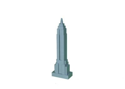 3D Printed Empire State Building 2