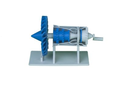 3D Printed Jet Assembly 2