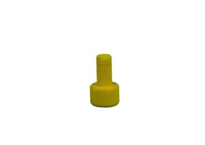 3D Printed Knurled Bolt 1